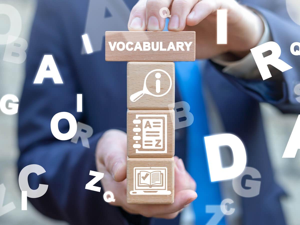 vocabularyのロゴ