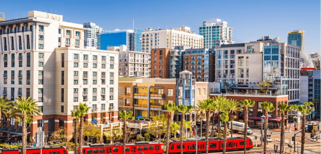 サンディエゴの街