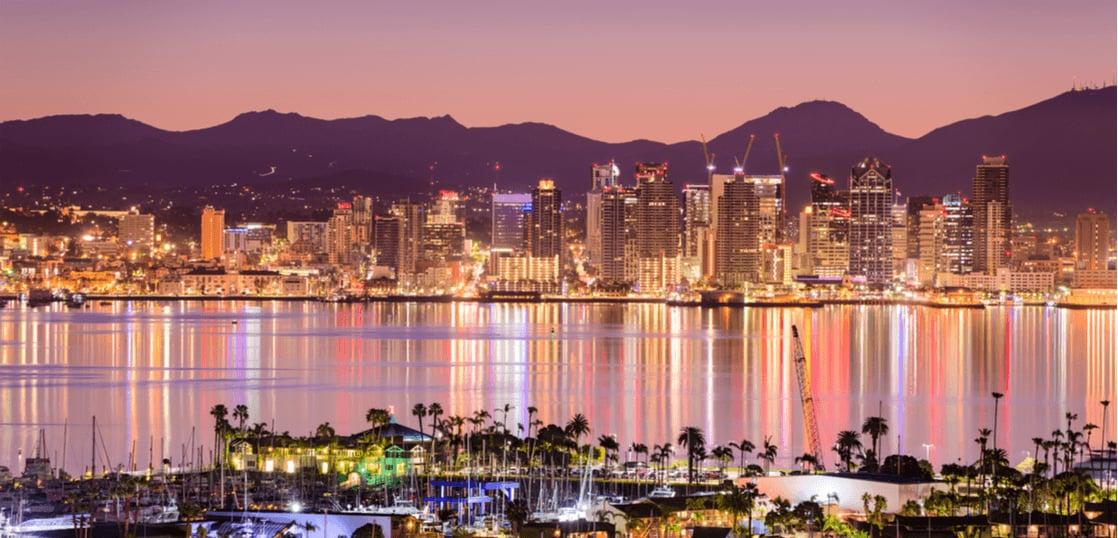 サンディエゴの夜景