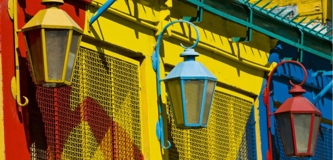 アルゼンチンの街角